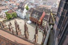 η αγορά Freiburg Γερμανία Στοκ Εικόνες