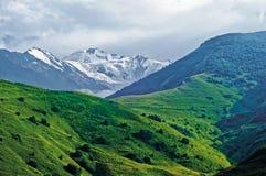 Η αιχμή του βουνού Kazbek Στοκ Εικόνες