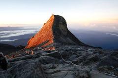 Η αιχμή του ST John (4,091m), τοποθετεί Kinabalu Στοκ εικόνα με δικαίωμα ελεύθερης χρήσης