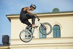 Η ακροβατική επίδειξη BMX παρουσιάζει στο φεστιβάλ Μόναχο Streetlife Στοκ Φωτογραφίες