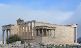 Η ακρόπολη στην Αθήνα από την κορυφή στοκ φωτογραφία με δικαίωμα ελεύθερης χρήσης