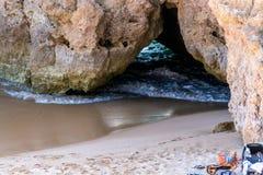 Η ακτή αναρωτιέται της Πορτογαλίας Στοκ εικόνες με δικαίωμα ελεύθερης χρήσης