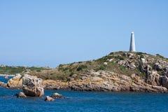 η ακτή Γαλλία της Βρετάνης & Στοκ εικόνα με δικαίωμα ελεύθερης χρήσης
