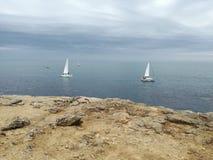 Η ακτή της Αγγλίας Στοκ φωτογραφία με δικαίωμα ελεύθερης χρήσης