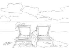 Η ακτή της θάλασσας καλύπτει την παραλία Ελεύθερη απεικόνιση δικαιώματος