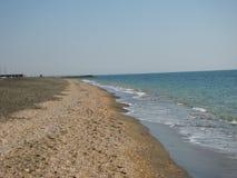 Η ακτή της Tyrrhenian θάλασσας στοκ εικόνα