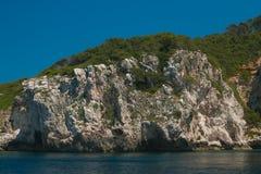 Η ακτή του εθνικού πάρκου Gargano στην Ιταλία Στοκ εικόνες με δικαίωμα ελεύθερης χρήσης