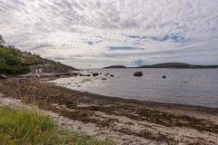 Η ακτή του νησιού γερμανικό Kuzov και άλλων Υπουργών Στοκ Φωτογραφία