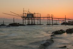 Η ακτή του Travocchi στοκ εικόνες