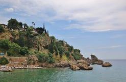η ακτή Antalia Στοκ εικόνα με δικαίωμα ελεύθερης χρήσης