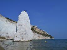 Η ακτή Apulia στην Ιταλία Στοκ Εικόνες