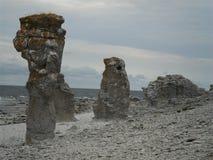 Η ακτή Farö Στοκ Εικόνες