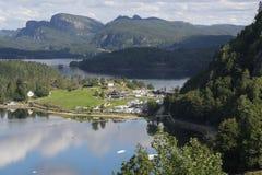 Η ακτή Kristiansand Στοκ εικόνες με δικαίωμα ελεύθερης χρήσης