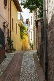 Η αλέα Assisi Στοκ Εικόνα