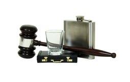 η αλκοόλη εκδίδει νομικό στοκ φωτογραφίες