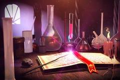 Η αλχημεία στοκ εικόνα