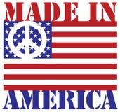 η Αμερική έκανε Στοκ Εικόνες