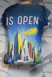 Η αμερικανική ανοικτή συλλογή κατά τη διάρκεια των ΗΠΑ ανοίγει το 2014 στο εθνικό κέντρο αντισφαίρισης βασιλιάδων της Billie Jean Στοκ Φωτογραφία