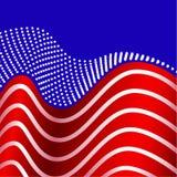 η αμερικανική σημαία δηλώνει ενωμένο Στοκ Φωτογραφίες