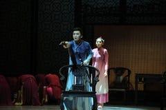 Η ανάκληση-δεύτερη πράξη των γεγονότων δράμα-Shawan χορού του παρελθόντος στοκ εικόνα