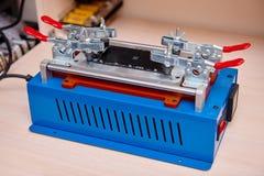 Η ανάλυση fmodulesor μηχανών της αφής Στοκ εικόνα με δικαίωμα ελεύθερης χρήσης