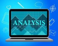 Η ανάλυση αντιπροσωπεύει on-line τον ιστοχώρο και τα στοιχεία απεικόνιση αποθεμάτων