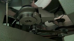 Η αναδρομική μηχανή για μια παλαιά ταινία κινηματογράφων, αρχίζει απόθεμα βίντεο