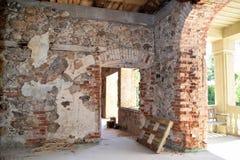 Η ανακαίνιση ενός σπιτιού Στοκ Φωτογραφίες
