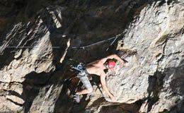 Η αναρρίχηση βράχου τολμά διάβολος 2 στοκ εικόνες