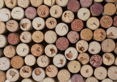 η ανασκόπηση βουλώνει το κρασί σύστασης μερών Στοκ Εικόνες