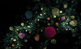 η ανασκόπηση βράζει fractal Στοκ εικόνα με δικαίωμα ελεύθερης χρήσης