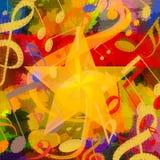 η ανασκόπηση είναι μπορεί διαφορετικοί σκοποί μουσικής απεικόνισης χρησιμοποιούμενοι Στοκ Εικόνα