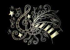 η ανασκόπηση είναι μπορεί διαφορετικοί σκοποί μουσικής απεικόνισης χρησιμοποιούμενοι Στοκ εικόνα με δικαίωμα ελεύθερης χρήσης