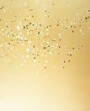 η ανασκόπηση είναι μπορεί Χριστούγεννα να σχεδιάσει τη χρυσή απεικόνιση χρησιμοποίησε το σας Στοκ εικόνες με δικαίωμα ελεύθερης χρήσης