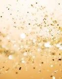 η ανασκόπηση είναι μπορεί Χριστούγεννα να σχεδιάσει τη χρυσή απεικόνιση χρησιμοποίησε το σας Στοκ Εικόνες