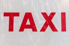 η ανασκόπηση είναι όπως μπορεί να υπογράψει τη χρήση ταξί Στοκ φωτογραφία με δικαίωμα ελεύθερης χρήσης