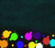 η ανασκόπηση λεκιάζει το χρώμα Απεικόνιση αποθεμάτων