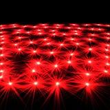 η ανασκόπηση εξερράγη το κόκκινο αστέρι Στοκ Εικόνες