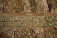 η ανασκόπηση διασταυρώνει τη δύσκολη δομή πετρών βράχου Στοκ εικόνες με δικαίωμα ελεύθερης χρήσης