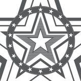 η ανασκόπηση μεταφορτώνει το έτοιμο διάνυσμα αστεριών σχεδίων Ελεύθερη απεικόνιση δικαιώματος