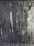 Η ανασκόπηση ξεφλούδισε το άσπρο μέταλλο χρώματος Στοκ Φωτογραφίες