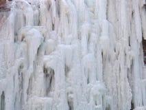 η ανασκόπηση πέφτει βουνό Νορβηγία πάγου Στοκ φωτογραφία με δικαίωμα ελεύθερης χρήσης