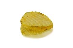 η ανασκόπηση πελεκά το λευκό σειράς πατατών παλιοπραγμάτων εικόνας τροφίμων Στοκ εικόνες με δικαίωμα ελεύθερης χρήσης