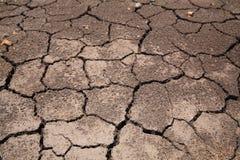 η ανασκόπηση ράγισε την ξηρά &g Στοκ Φωτογραφίες