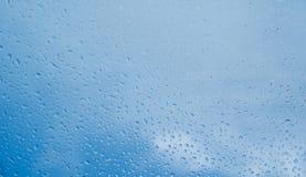 η ανασκόπηση ρίχνει το ύδωρ Στοκ Εικόνες