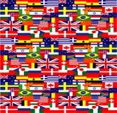 η ανασκόπηση σημαιοστολί& Στοκ Εικόνες
