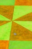 η ανασκόπηση χρωμάτισε γεωμετρικό Στοκ Εικόνες