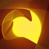 η ανασκόπηση χρωματίζει ηλιακό Στοκ εικόνα με δικαίωμα ελεύθερης χρήσης