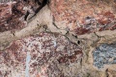 η ανασκόπηση χρωματίζει grunge τον τοίχο πετρών Δομή σύστασης agedness Τρύγος στοκ εικόνα με δικαίωμα ελεύθερης χρήσης