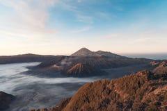 Η ανατολή του ηφαιστείου Bromo, πυροβολισμός στην Ιάβα, indunesia στοκ εικόνες με δικαίωμα ελεύθερης χρήσης